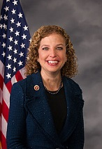 Debbie Wasserman Schultz of the U.S. (1966-)