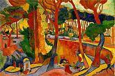 'The Turning Road, Lestaque', by Andre Derain (1880-1954), 1906
