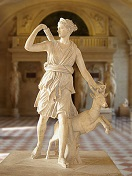 Diana of Versailles by Leochares, -325