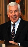 Dick Lugar of the U.S. (1932-)
