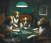 'Poker Game' by Cassius Marcellus Coolidge (1844-1934), 1894