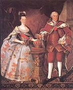 Dom Pedro (1717-86) and Maria I of Portugal (1734-1816)