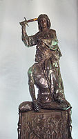 'Judith and Holofernes' by Donatello (1386-1466), 1457-64