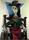 'Dora Maar with Cat' by Pablo Picasso (1881-1973), 1941