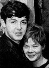 Paul McCartney and Dot Rhone