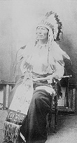 Northern Cheyenne Chief Dull Knife (Morning Star) (1810-83)