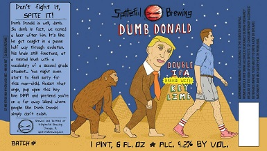 Dumb Donald Beer, 2016