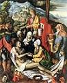 'Lamentation for Christ' by Albrecht Durer (1471-1528), 1500-3