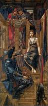 'King Cophetua and the Beggar Maid' by Sir Edward Coley Burne-Jones (1833-98), 1884