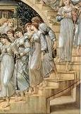 'The Golden Stairs' by Sir Edward Coley Burne-Jones (1833-98), 1880