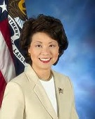 Elaine Lan Chao of the U.S. (1953-)