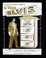 Poster for Elvis Presley's USS Arizona Benefit Concert, Mar. 15, 1961