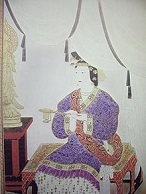 Empress Suiko of Japan (554-628)