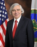 Ernest Moniz of the U.S. (1944-)