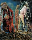 The Antipope' by Max Ernst (1891-1976), 1941-2