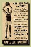First Pro Basketball Game, Nov. 1, 1946