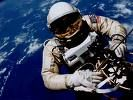 First American Spacewalk by Edward Higgins White II (1930-67), June 3, 1965