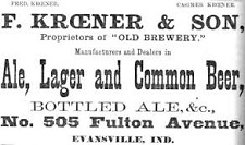 F. Kroener and Son Brewery