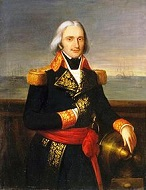 French Adm. Francois-Paul Brueys d'Aigalliers (1753-98)