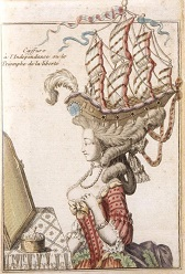 Frigate Hairstyle, 1778