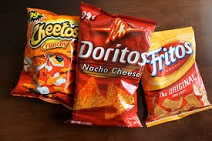 Fritos, Cheetos, Doritos