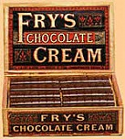 Fry's Chocolate Cream, 1866