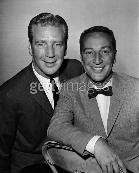 Garry Moore (1915-93) and Durward Kirby (1912-2000)