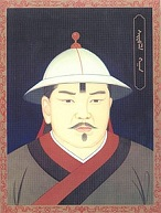 Gegeen Khan (Yuan Ying Zong) of China (1302-23)