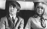 George Harrison (1943-2001) and Pattie Boyd (1944-)