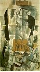 'Woman with a Guitar' by Georges Braque (1882-1963), 1913