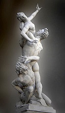 'The Rape of the Sabine Women' by Giambologna (1529-1608), 1574-82