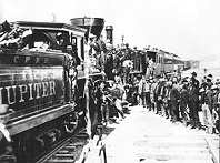 Golden Spike Ceremony, May 10, 1869