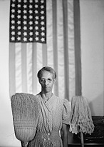 'American Gothic, Washington, D.C.', by Gordon Parks (1912-2006), 1941