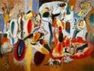 'The Liver is the Cocks Comb' by Arshile Gorky (1904-48), 1944