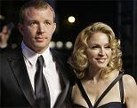 Guy Ritchie (1968-) and Madonna (1958-)