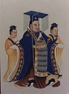 Chinese Emperor Han Wu Di (-156 to -87)