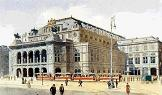 'Vienna State Opera House', by Adolf Hitler (1889-1945), 1928
