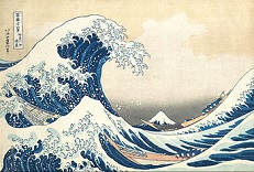 'The Great Wave Off Kanagawa', by Hokusai (1760-1849), 1829-33