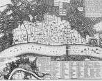 'View of London, 1666' by Wenceslas Hollar