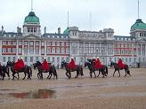 Horse Guards Parade, 1742-