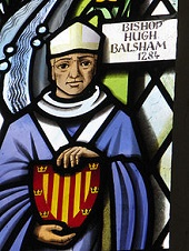 Bishop Hugh de Balsham (-1286)