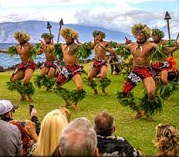 Hula Dancers, Male