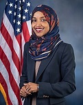 Ilhan Omar of the U.S. (1981-)