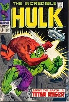 'The Incredible Hulk', 1962-