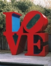 'Love' by Robert Indiana (1928-), 1966