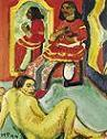 'Indian and Woman' by Max Pechstein, 1910