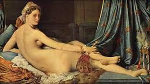 'Grande Odalisque' by Jean Auguste Dominique Ingres (1780-1867), 1814