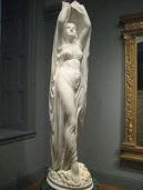 'Undine Rising from the Waves' by Chauncey Ives (1810-94), 1884