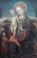 'Virgin of Humility', Jacopo Bellini (1400-70), 1440