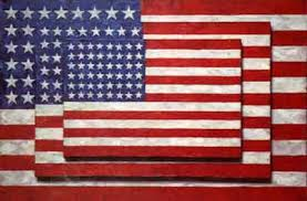 'Three Flags' by Jasper Johns (1930-), 1958